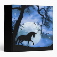 Unicorn Notebook Binder