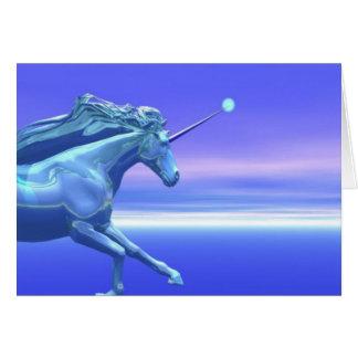 Unicorn Notecards Card