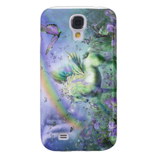 Unicorn Of The Butterflies Art Case for iPhone 3 Galaxy S4 Cover