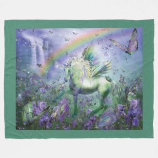 Unicorn Of The Buttys Art Fleece Blanket