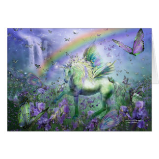 Unicorn Of The Buttys ArtCard Cards