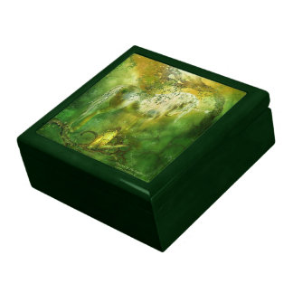 Unicorn Of The Forest Art Gift Box