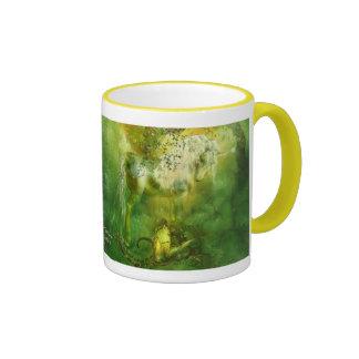 Unicorn Of The Forest Art Mug