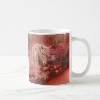 Unicorn Of The Poppies Mug
