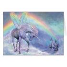 Unicorn Of The Rainbow ArtCard Card