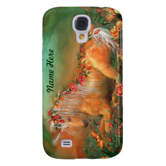 Unicorn Of The Roses Art Case for iPhone 3 Samsung Galaxy S4 Covers