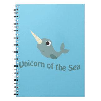Unicorn of the Sea Notebook