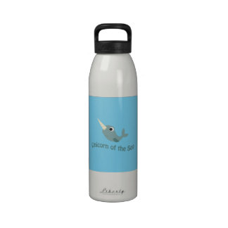 Unicorn of the Sea Drinking Bottle
