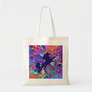 UNICORN OF THE UNIVERSE multicolored Tote Bag