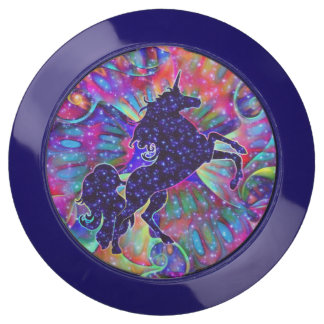 UNICORN OF THE UNIVERSE multicolored USB Charging Station
