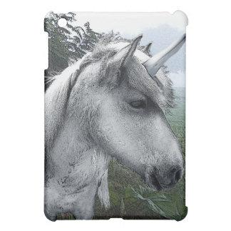 Unicorn on a misty morning iPad mini cover