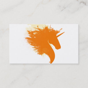 360 business cards zazzle unicorn on fire business card reheart Image collections