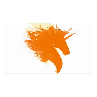 Unicorn on Fire Business Card