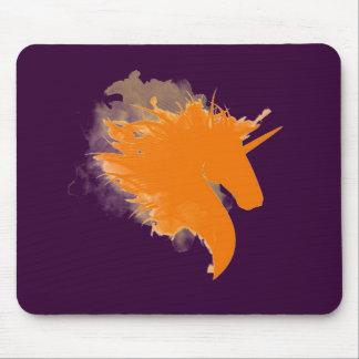 Unicorn on Fire Mouse Pad