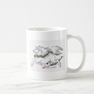 Unicorn on the loose coffee mug