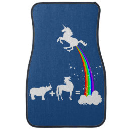 Unicorn origin car mat