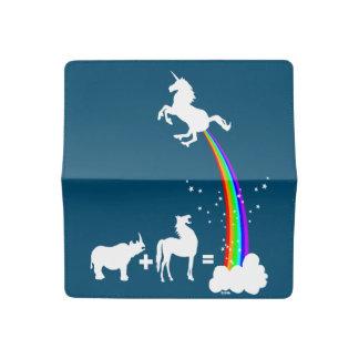 Unicorn origin checkbook cover