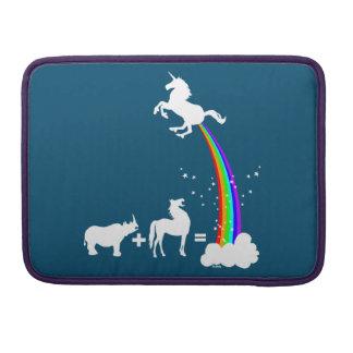 Unicorn origin MacBook pro sleeve