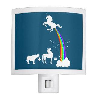 Unicorn origin night light