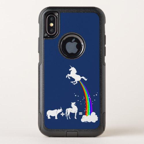 Unicorn origin OtterBox commuter iPhone XS case