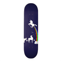 Unicorn origin skateboard deck