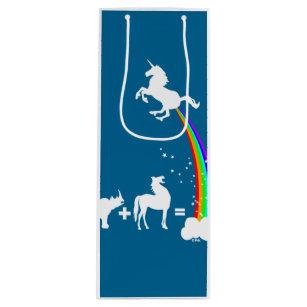 Unicorn origin wine gift bag