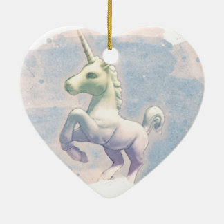 Unicorn Ornament - Heart (Moon Dreams)