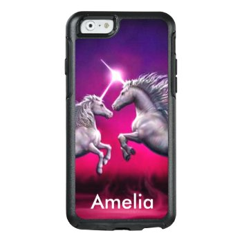 Unicorn:otterbox Symmetry Iphone 6/6s Case by TugarMaes at Zazzle