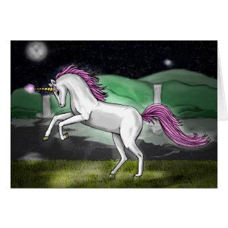 unicorn paradise card