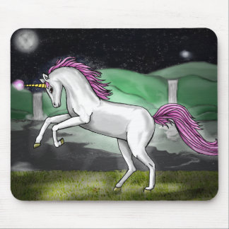 unicorn paradise Mouse mat