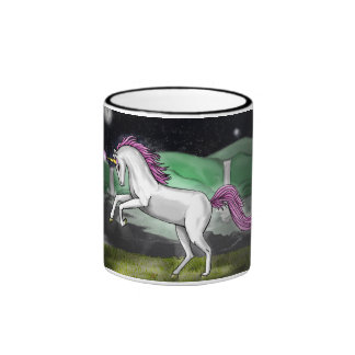 unicorn paradise mug