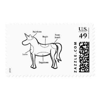 Unicorn Parts Postage