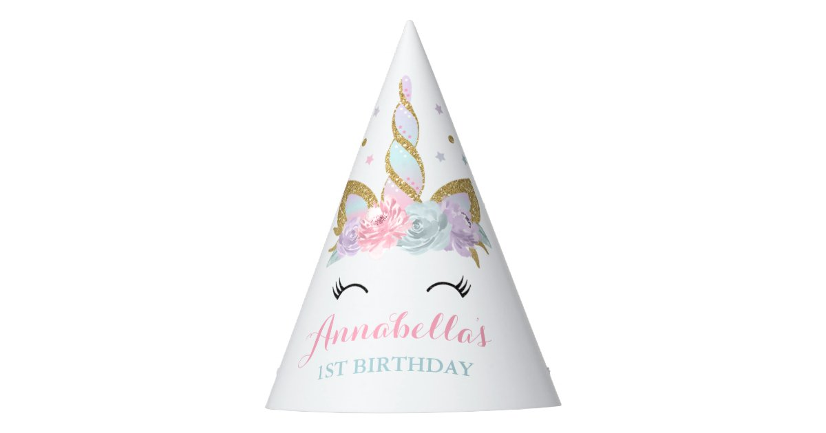 Unicorn Party Hat Magical Birthday