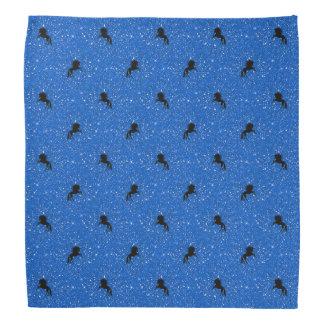 unicorn pattern aqua bandana