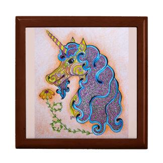 Unicorn Patterns Jewelry Box