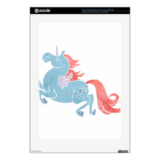 Unicorn Pegasus Decals For PS3 Console