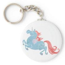 Unicorn Pegasus Keychain