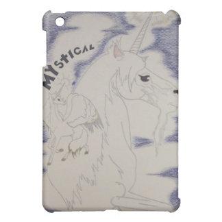 Unicorn & Pegasus Tricorn iPad Case