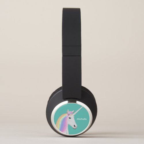 Unicorn Personalized Bluetooth Headphones