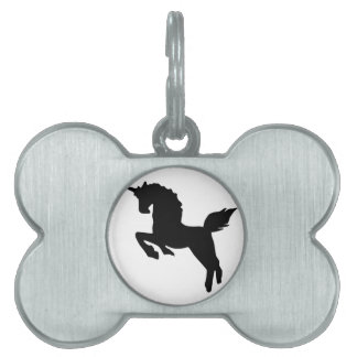unicorn pet tag