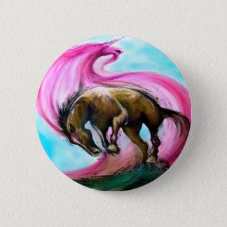 Unicorn Pinback Button