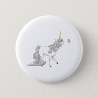 Unicorn Pinback Button