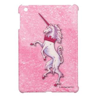 Unicorn Pink Faux Glitter Cover For The iPad Mini