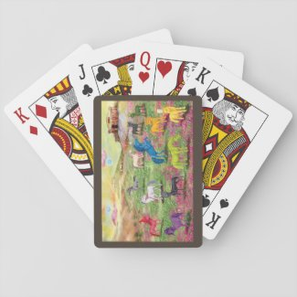 Unicorn Playing Cards, Standard Index faces Playing Cards