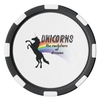 Unicorn Poker Chips
