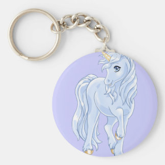 Unicorn Pony Keychain