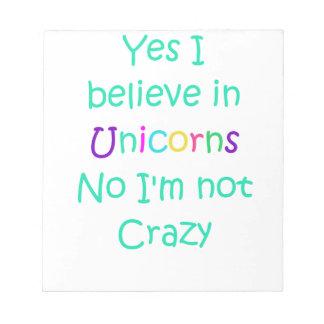 Unicorn Poop Notepad