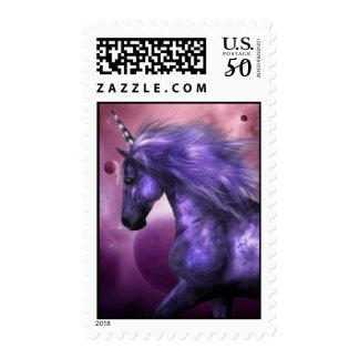 Unicorn Postage Stamp