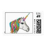 Unicorn Postage Stamps