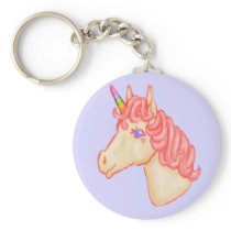 Unicorn Power Keychain